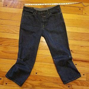 Pants - Cute dark blue Capris